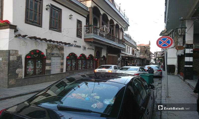 An Old Damascus street – January2, 2019 (Enab Baladi)