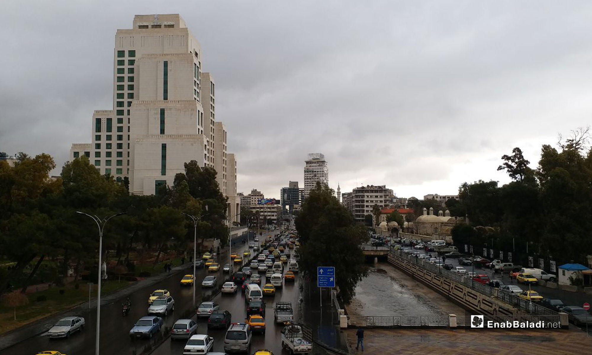 Jiser Al-Raees, Damascus - January 12, 2019 (Enab Baladi)