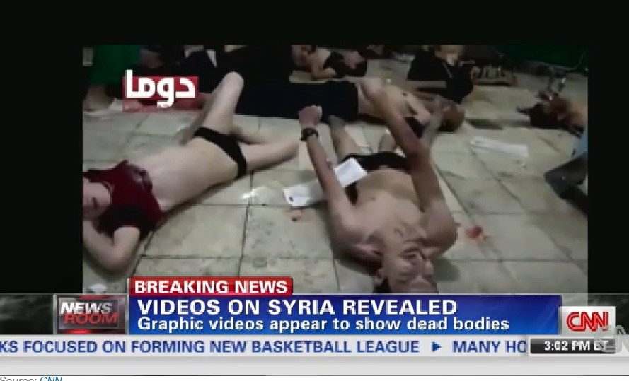 Assad chemical attack on Ghouta 2013