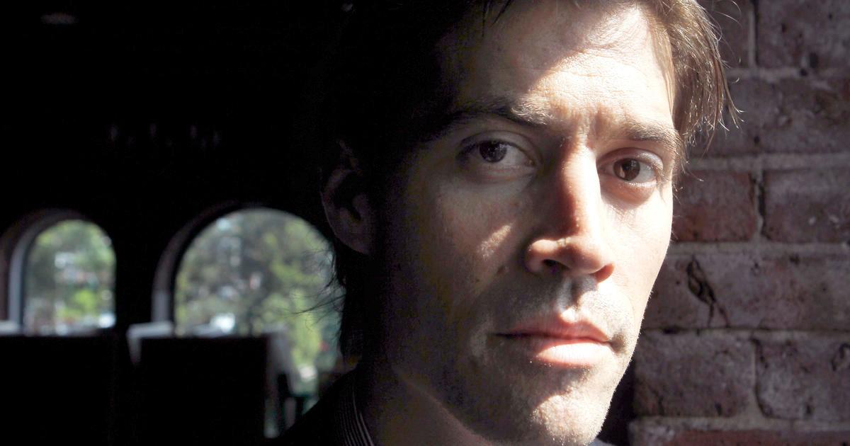 James Foley in Boston, May 27, 2011. CBS news.CREDIT: Steven Senne/AP