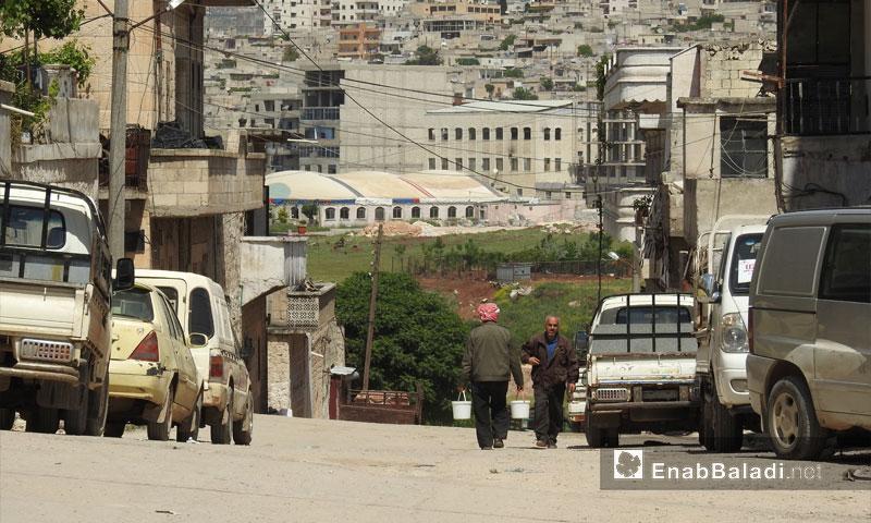 Daily life in Afrin - April 26, 2018 (Enab Balaadi)