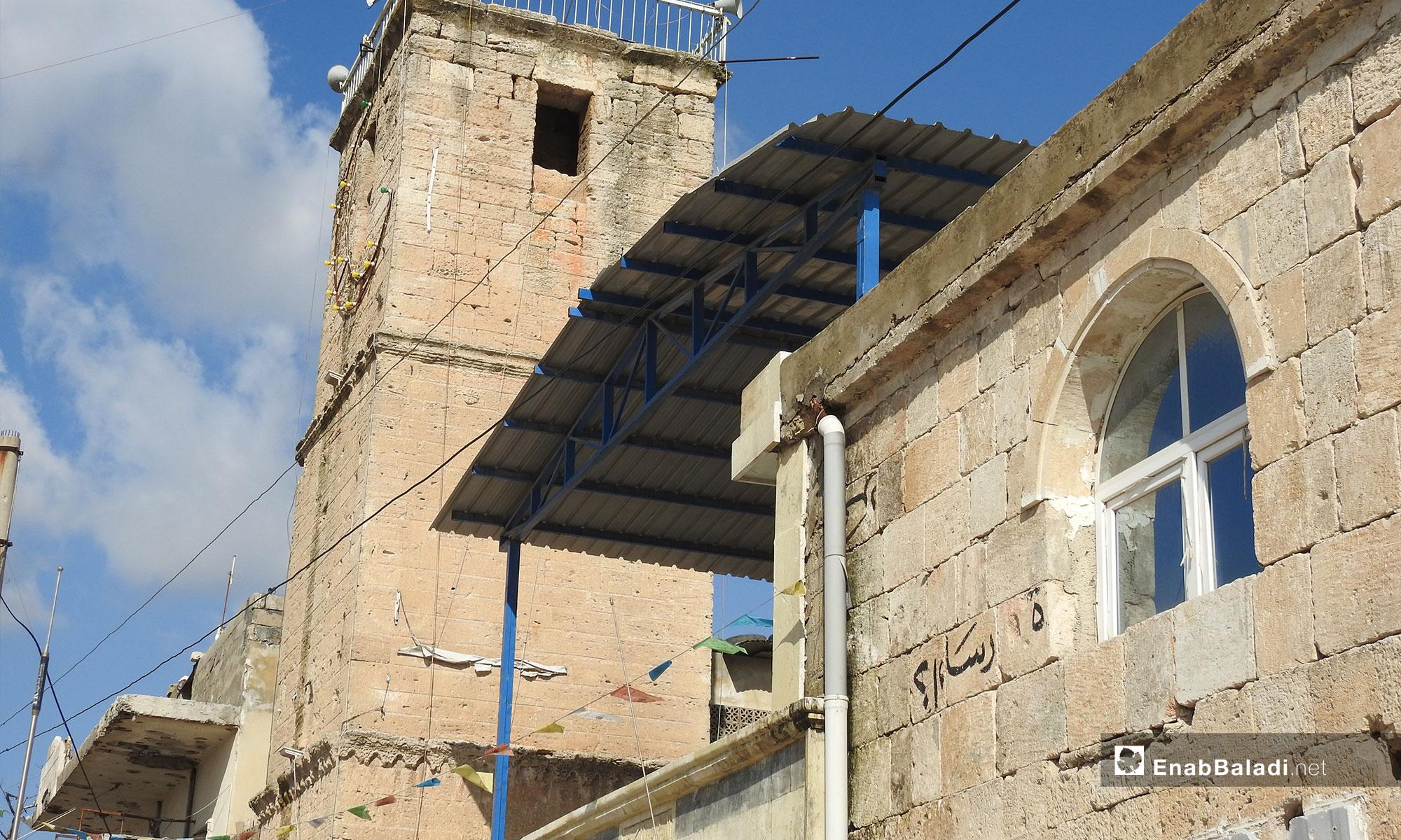 The Great Mosque in Bizaah City, eastern rural Aleppo – (Enab Baladi)