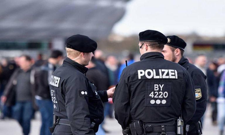 German Police officers (GETTY)