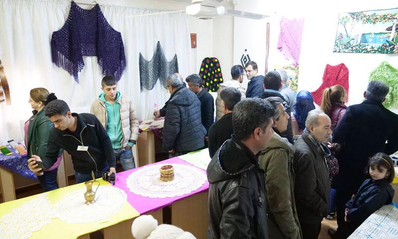 """Creative Fingers"" exhibition in the city of Amuda – 2019 (ARTA FM)"
