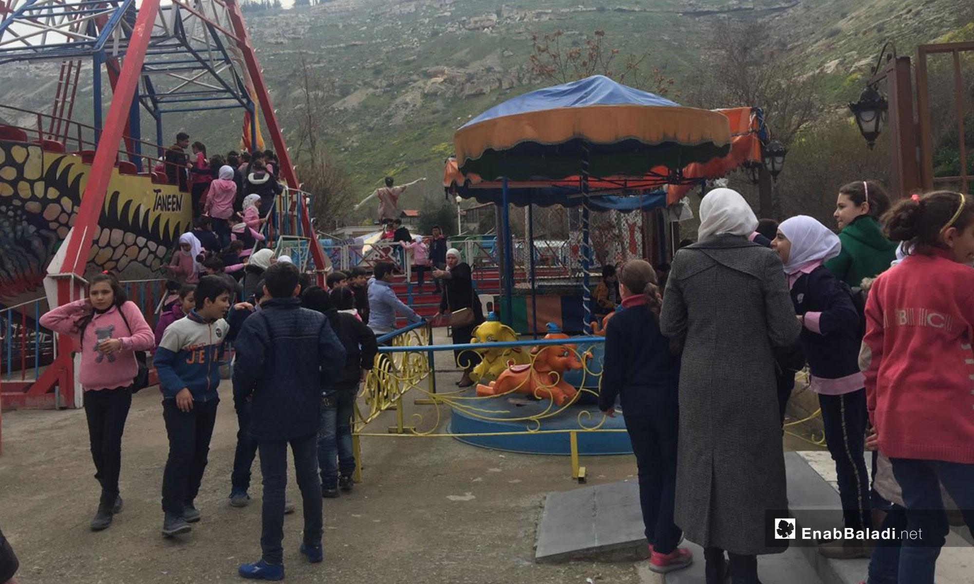 School trips to the al-Rabweh area in Damascus- 21 February, 2019 (Enab Baladi)