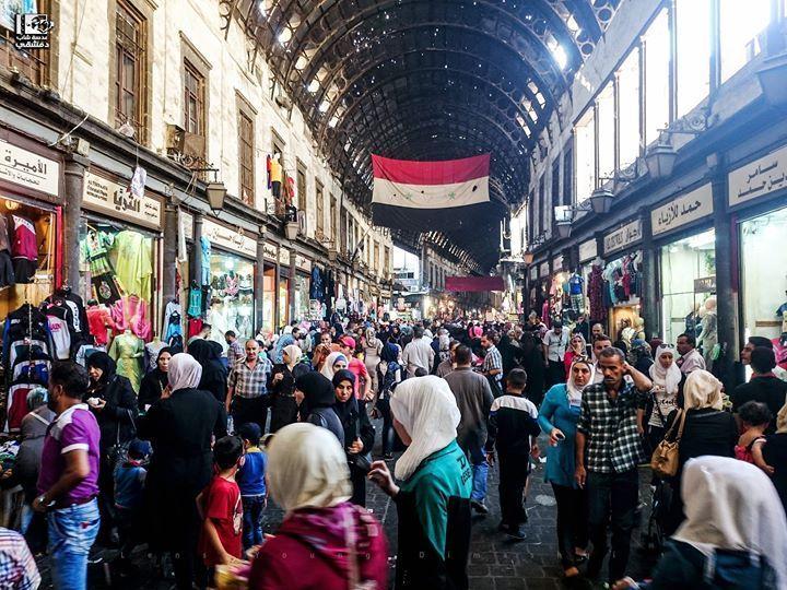 Al-Salihiyah market in Damascus, September 11, 2016 (A young Damascene camera)