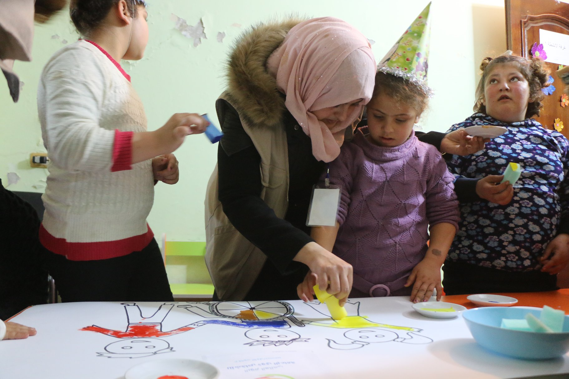 Activities for children with special needs in Idlib Governorate - December 2019 (UOSSM)