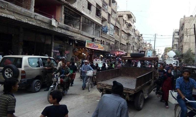 Kafr Batna market, June 2018 (Sound of the Capital)