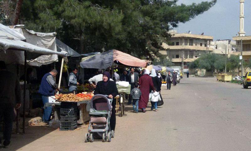 Markets in the city of Daraa – March 15, 2019 (SANA)