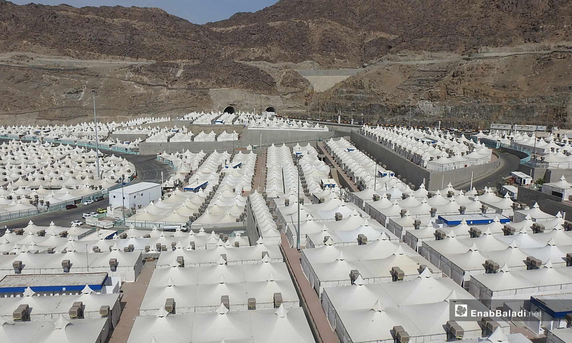 Camps of pilgrims - 2018 (Enab Baladi)