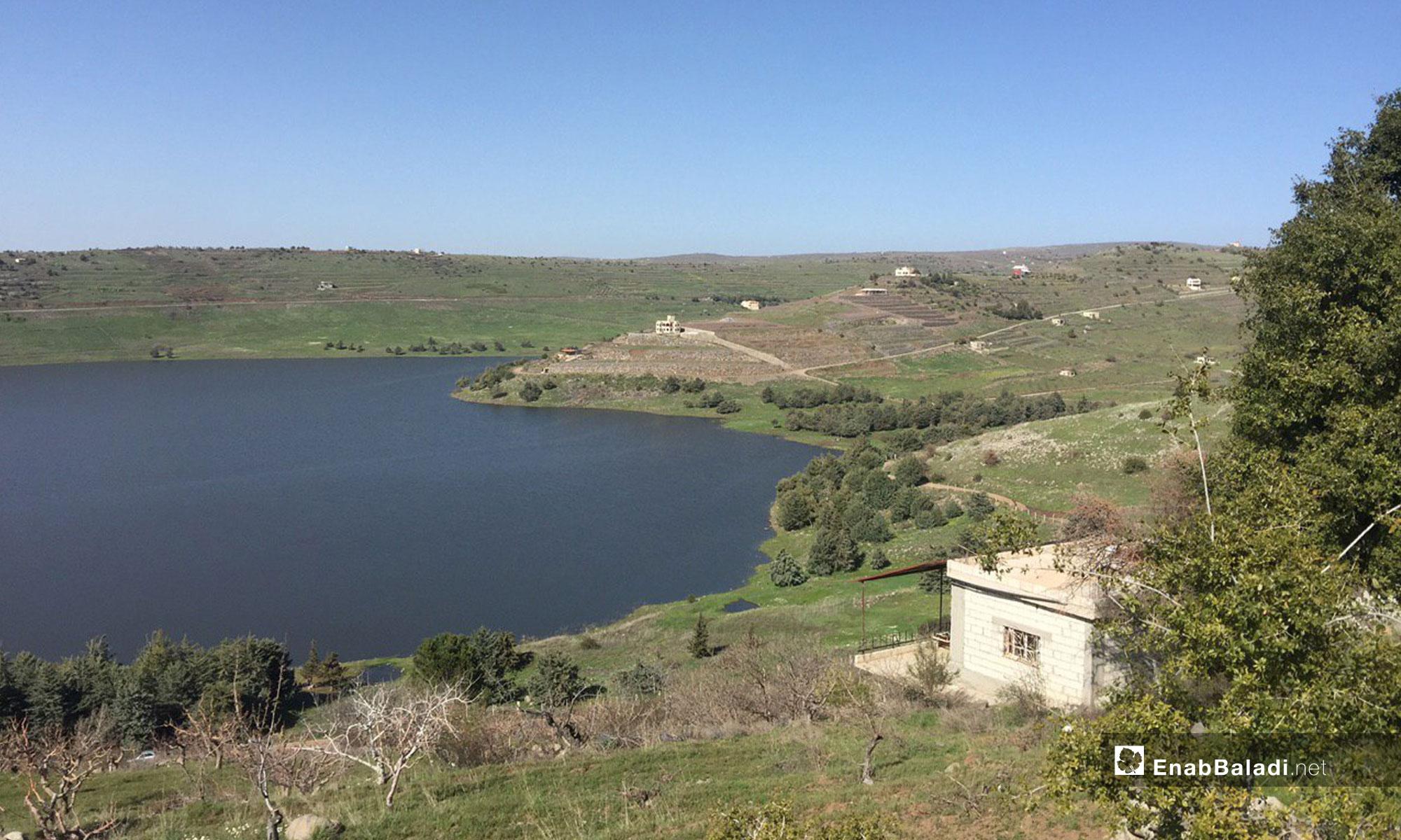 Ar Rom Dam in the city of Sweida – April 9, 2019 (Enab Baladi)