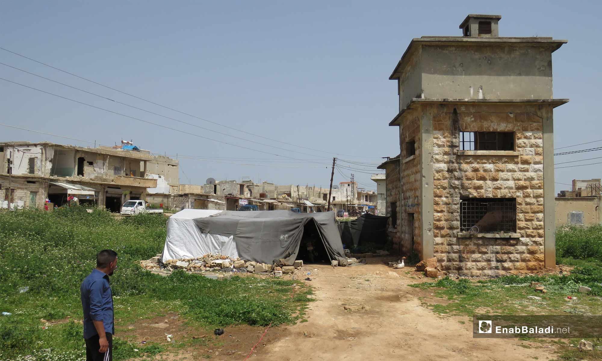 The town of Kafr Nabudah, northern rural Hama – April 24, 2019 (Enab Baladi)