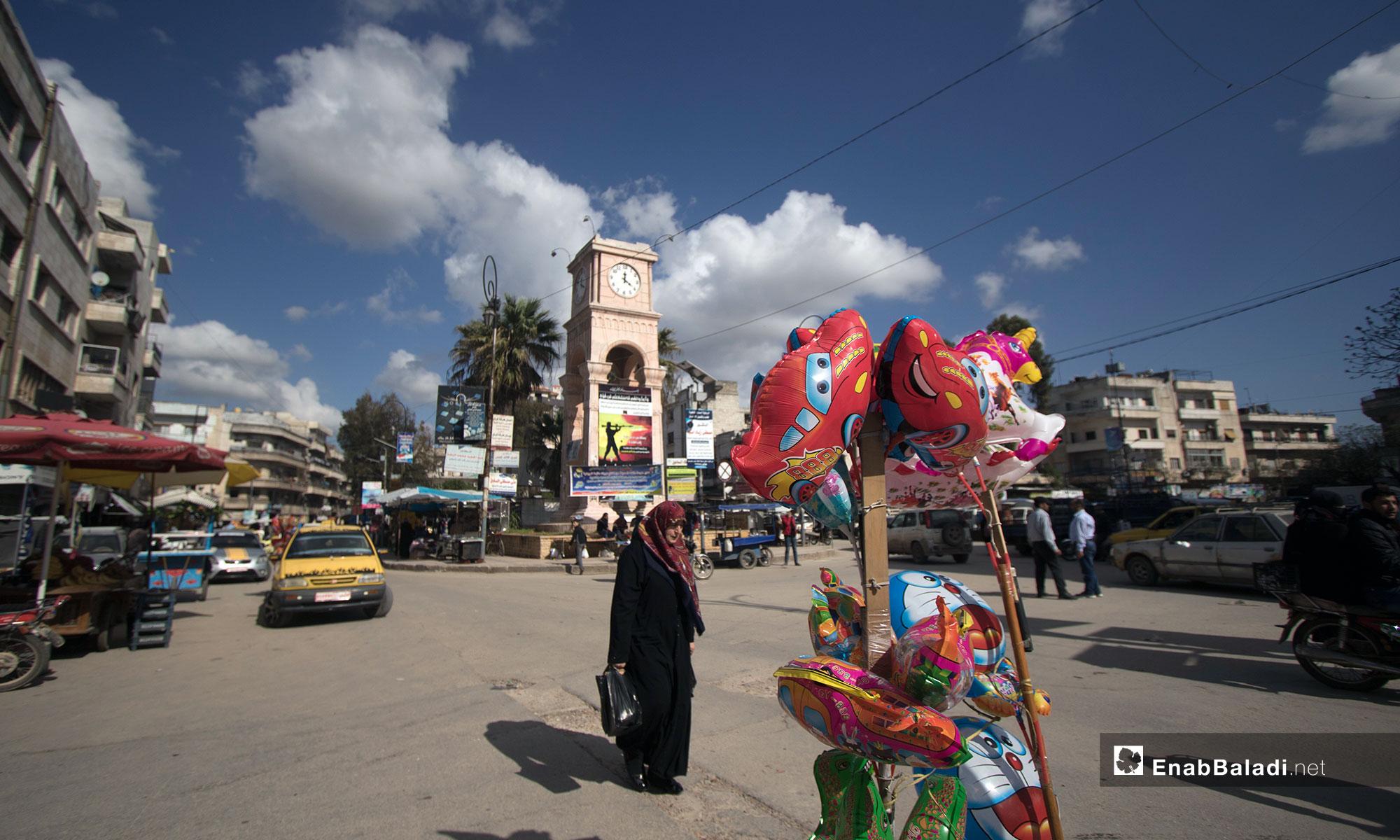 The markets of Idlib city – April 10, 2019 (Enab Baladi)