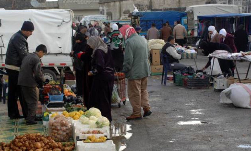 Popular Market in the Daraa Governorate in Southern Syria - January 2019 (Business & Finance)