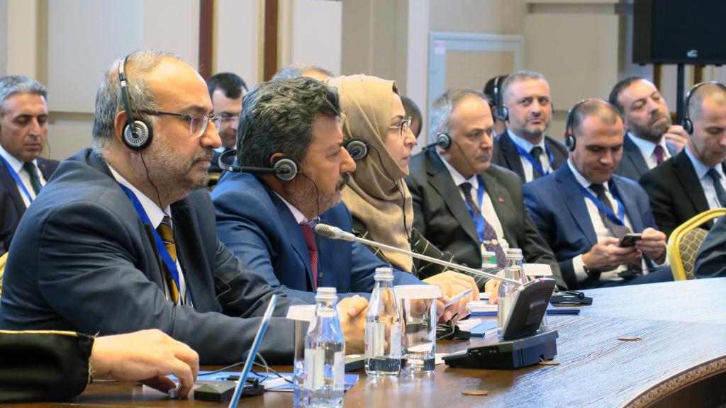 The opposition delegation to Astana 12 - April 2019 (Anadolu)