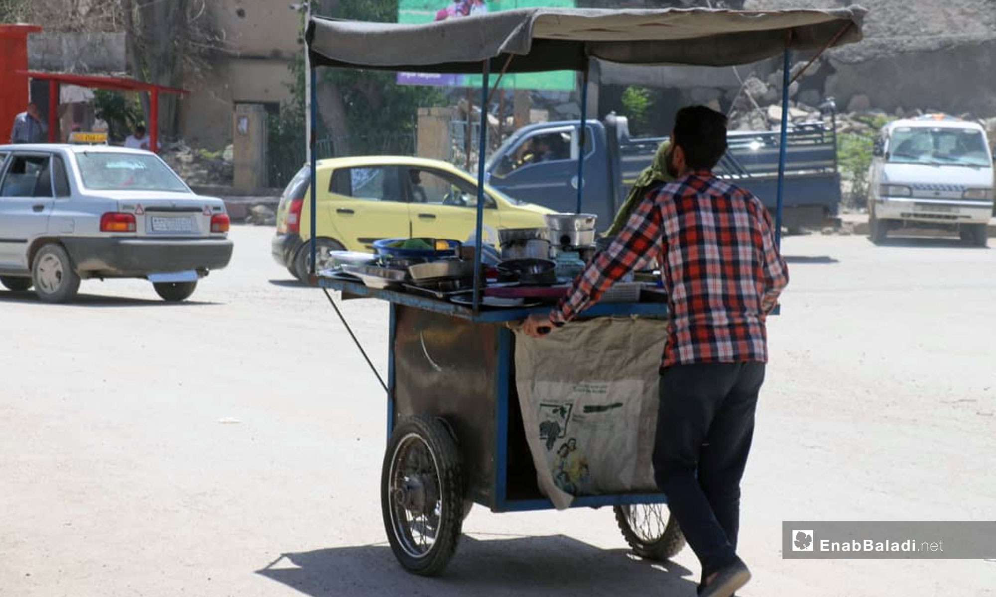 Raqqa city's markets on the first days of Ramadan – May 8, 2019 (Enab Baladi)