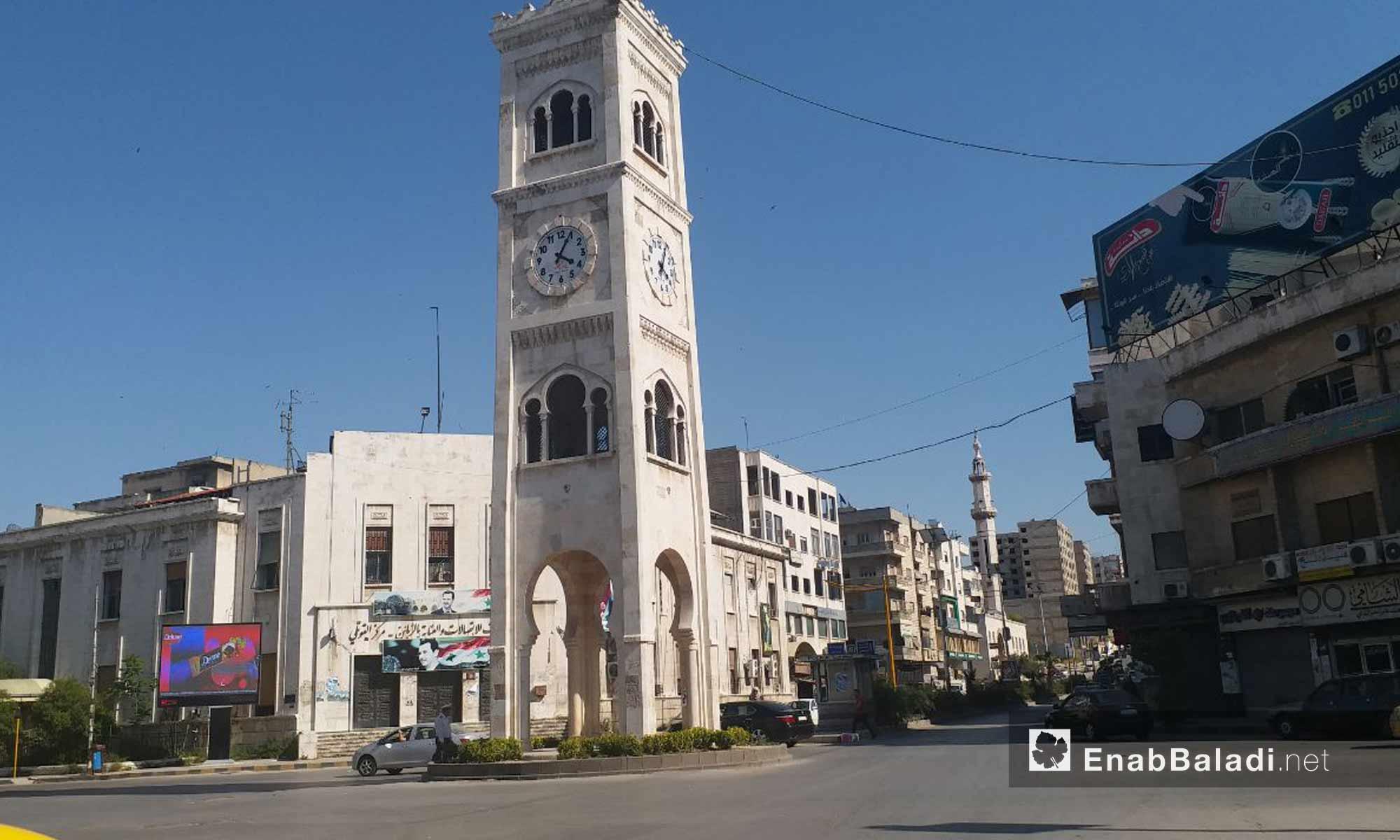 Assi Square in Hama city – May 18, 2019 (Enab Baladi)