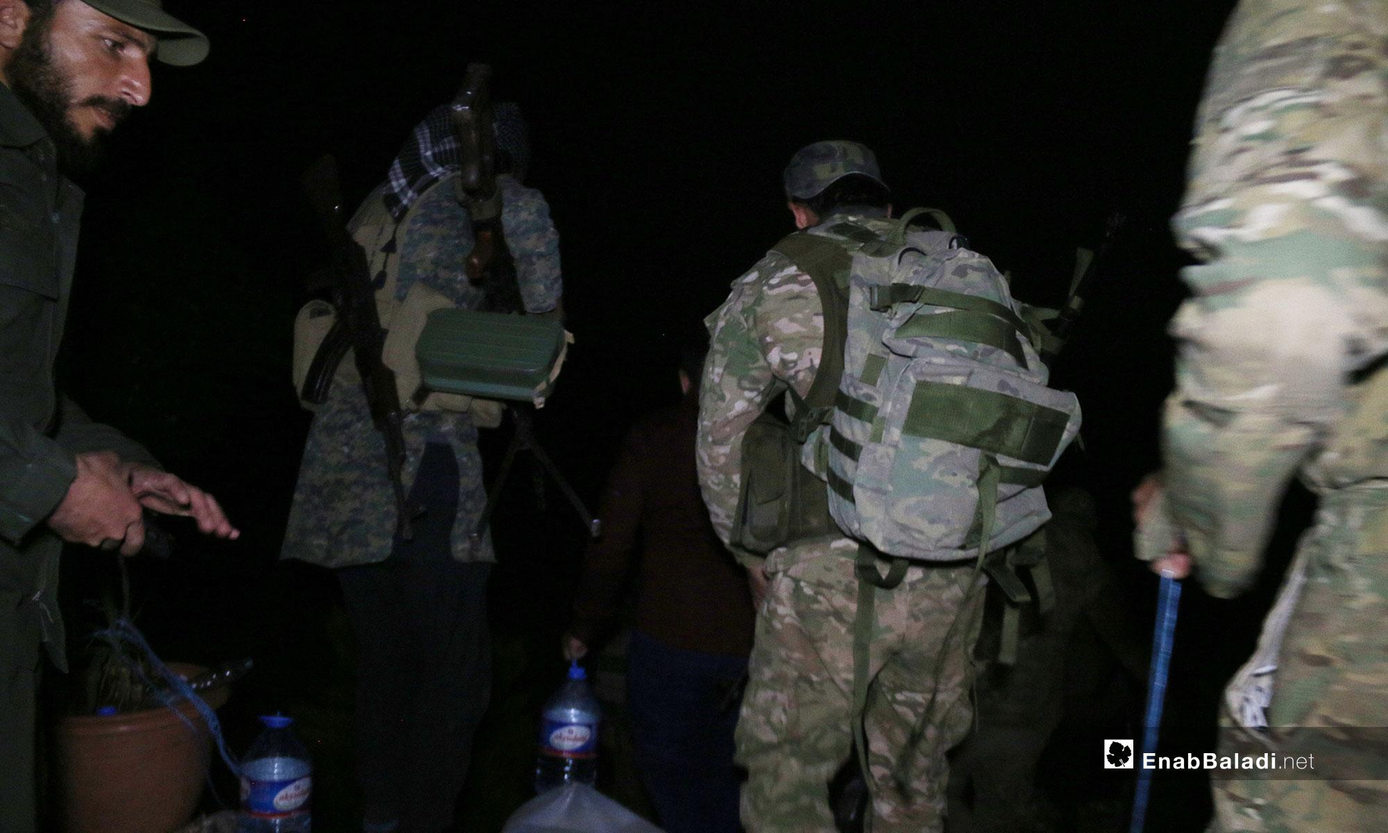 Opposition factions move towards rural Hama's fronts – May 26, 2019 (Enab Baladi)