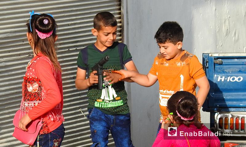 Eid al-Fitr Festivities in the town of Dabiq, north-eastern Aleppo – June 4, 2019 (Enab Baladi)