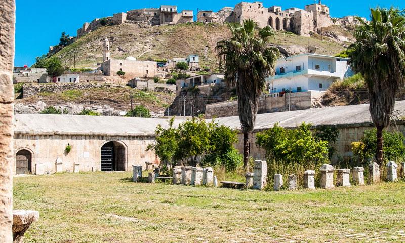 Apamea Museum in Qalaat al-Madiq - (Syria Photo Guide)