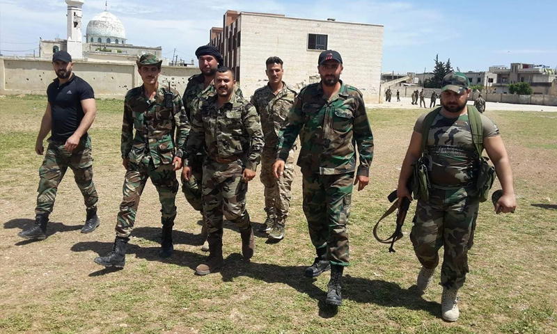 Militants of the Tiger Forces on a military operation in rural Hama – May 6, 2019 (Tiger Forces/Facebook)