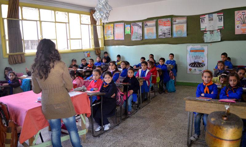 Elementary School in Damascus - 2018 (SANA)