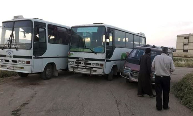 The al-Irada Transport project- June, 2019( Al-Irada Facebook page)