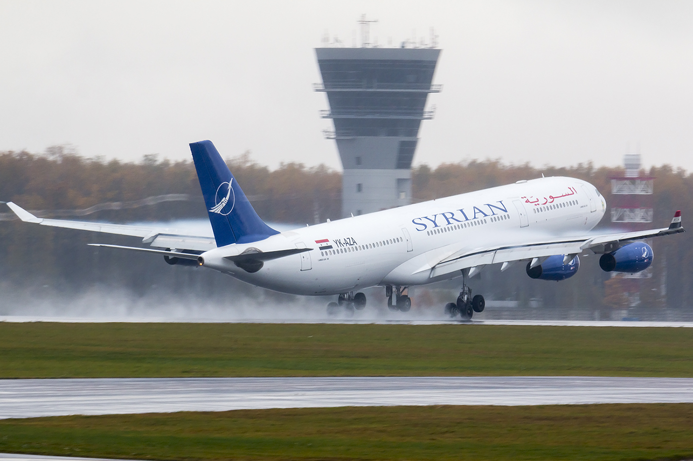 Plane belonging to the Syrian Airlines (FLICKR / TEREKHOV DMITRY)