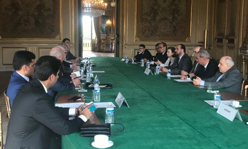 Meeting of the negotiating body with the mini-group - 25 of July 2019 (Twitter)