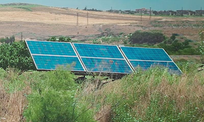 Solar powered irrigation Project - June 30, 2019 ( violet) organization-Facebook)