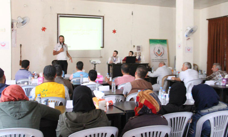 Project Maps Service Centers in Idlib to IDPs