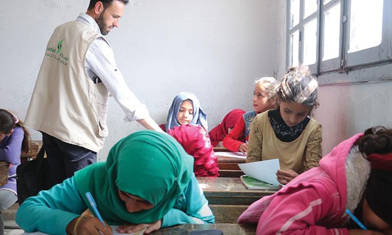 The activities of the Fair and Safe Education Project – May 6, 2019 (Sadad Humanitarian Organization)