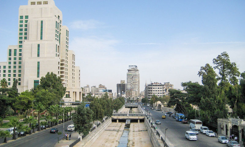Four Seasons Hotel in Damascus - 22 October 2010 (flickr)