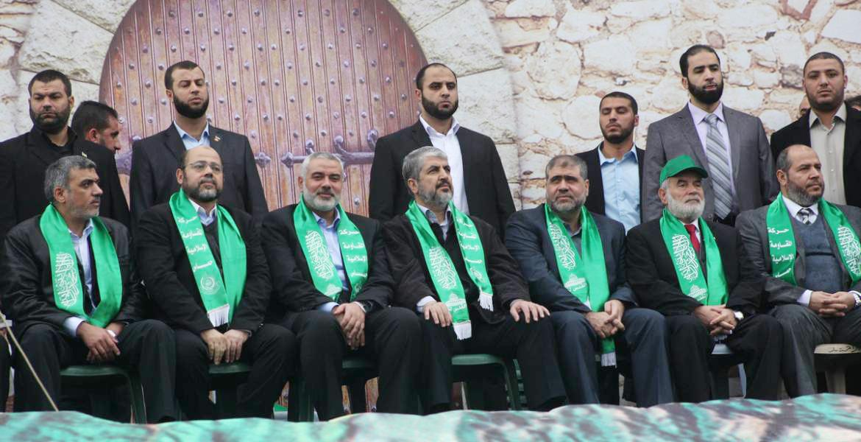 Leaders of the Palestinian Hamas Movement (Hamas)