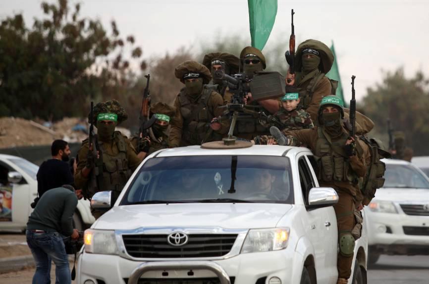 Members of al-Qassam Brigades in the Gaza Strip - 2016 (Hamas)