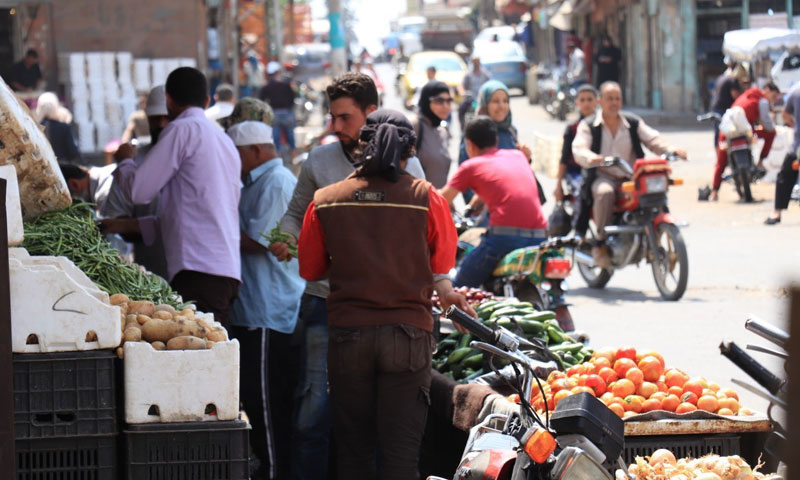 Markets of western countryside of Daraa- June 1, 2018 (SY24)