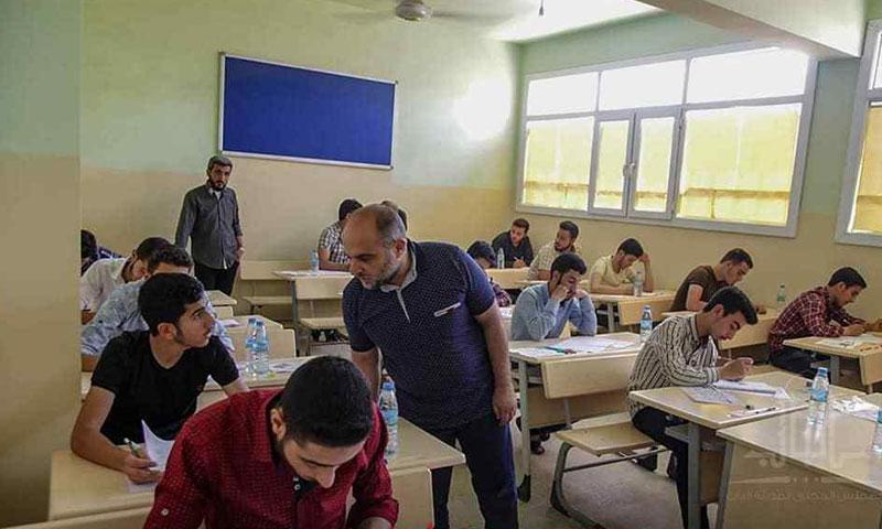 A school in Al-Bab City - June 17, 2019 (The local council of Aleppo)