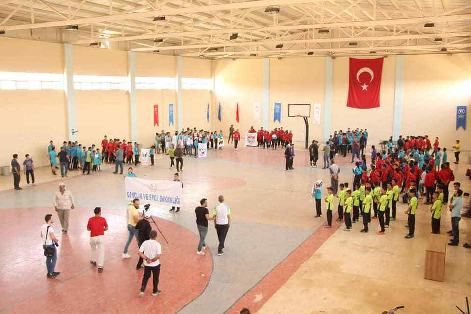 Juniors' Football League in Afrin Stadium -  June 21, 2019 (Sports Office in Afrin) junior