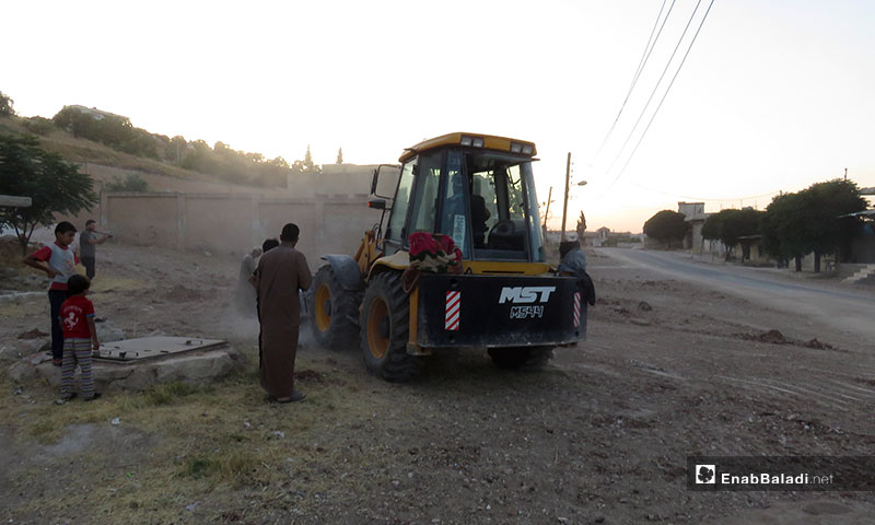 Return of internally displaced persons to their villages in Idlib following the ceasefire agreement – August 4, 2019 (Enab Baladi)