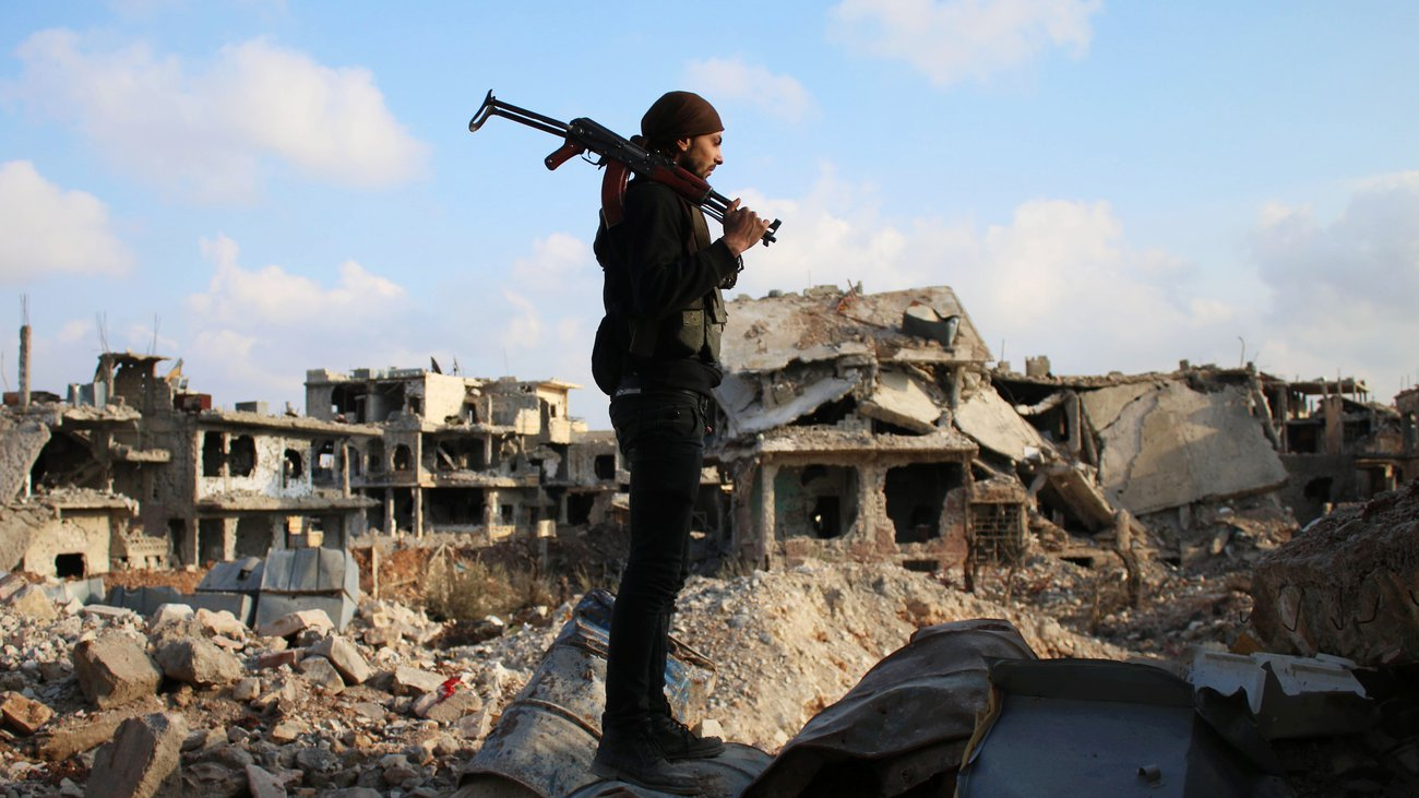 Free Syrian Army fighter in Daraa (AFP)