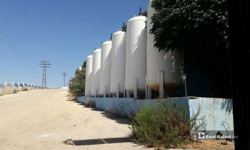 Drinking water project in Daraa (Enab Baladi)