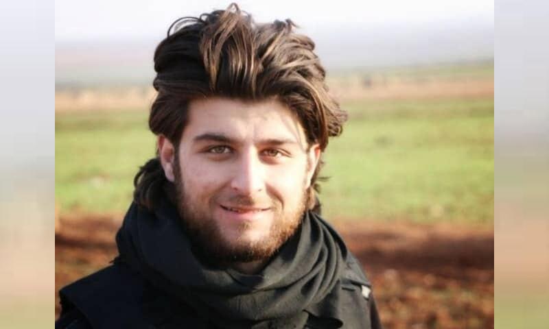 Media Activist Ahmad Rahal - (Facebook)