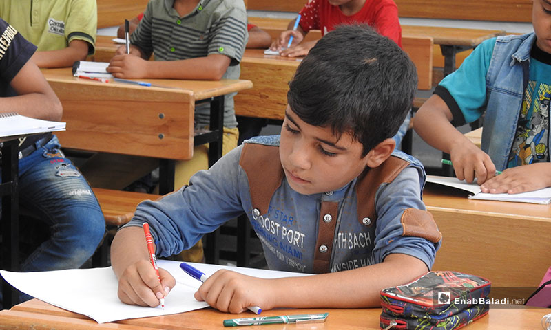 New school year kicks off in the Souran town, rural Aleppo – September 12, 2019 (Enab Baladi)