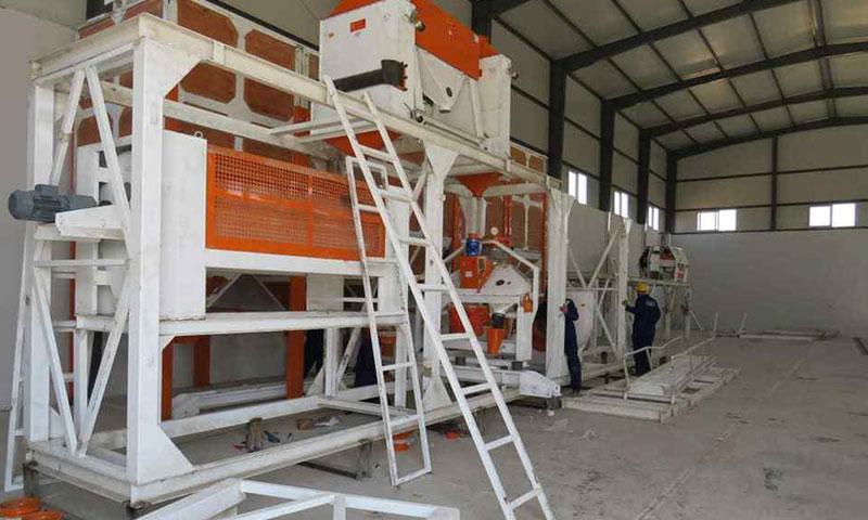 Ayn al-Bayda Mill in Aleppo Northern Countryside - July 2019 (Public Company for Mills in Aleppo Countryside)