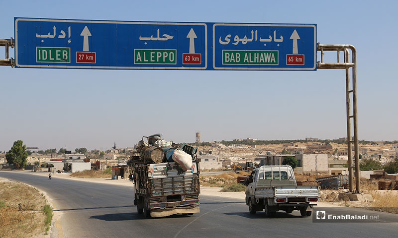 People displaced from southern rural Idlib to Syria's North due to the shelling – August 13, 2019 (Enab Baladi)