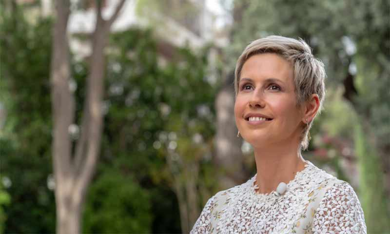A photo for Asma al Assad, Bashar al Assad's wife, the President of the Syrian regime (Syrian Presidency)
