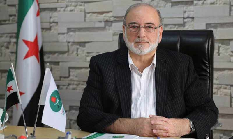 The comptroller general of the Muslim Brotherhood in Syria, Mohammad Mohammad Hikmat Walid (Muslim Brotherhood on Facebook)