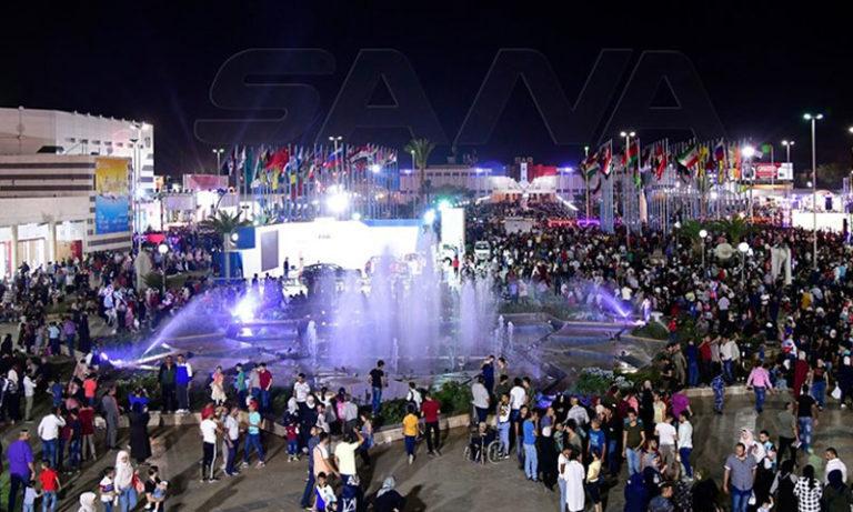 Citizens attending the activities of Damascus International Fair - September 6, 2019 (SANA)