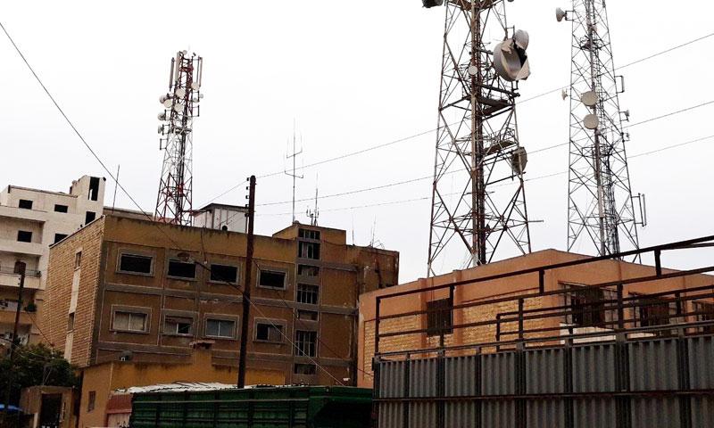 Telecommunication and internet towers in Idlib- January 2018 (Hibrpress)