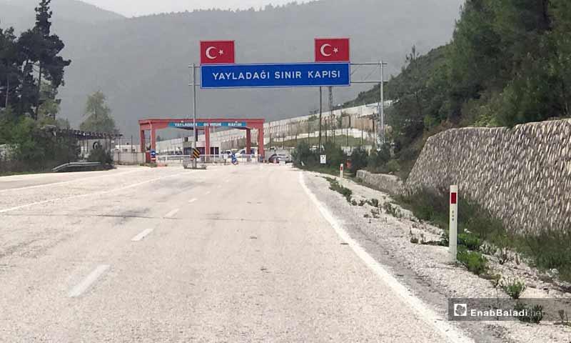 Kassab Border Crossing on the Turkish side (Enab Baladi)
